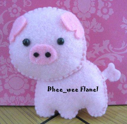 86+ Gambar Babi Dari Flanel HD